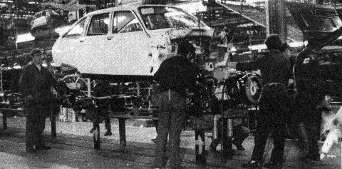 GS at production line